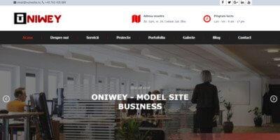 Site de prezentare business