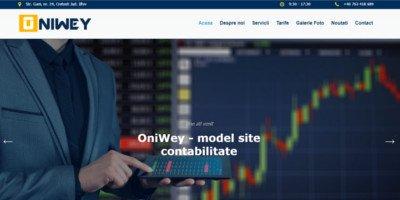 Site de prezentare contabilitate