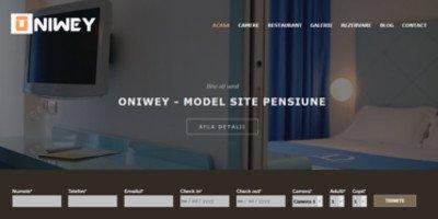 Site de prezentare pensiune