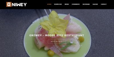 Site de prezentare restaurant