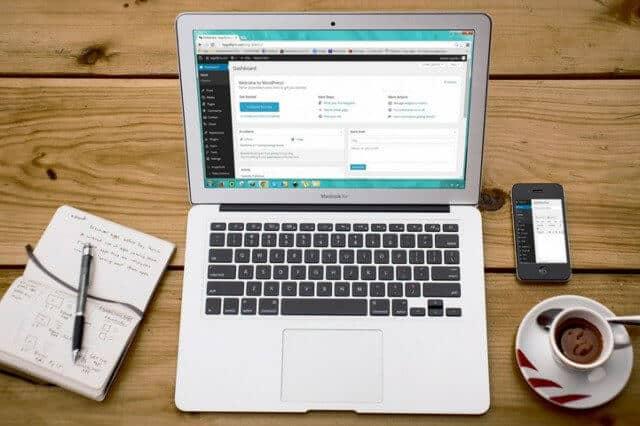 Site web la cheie dezvoltat pe WordPress