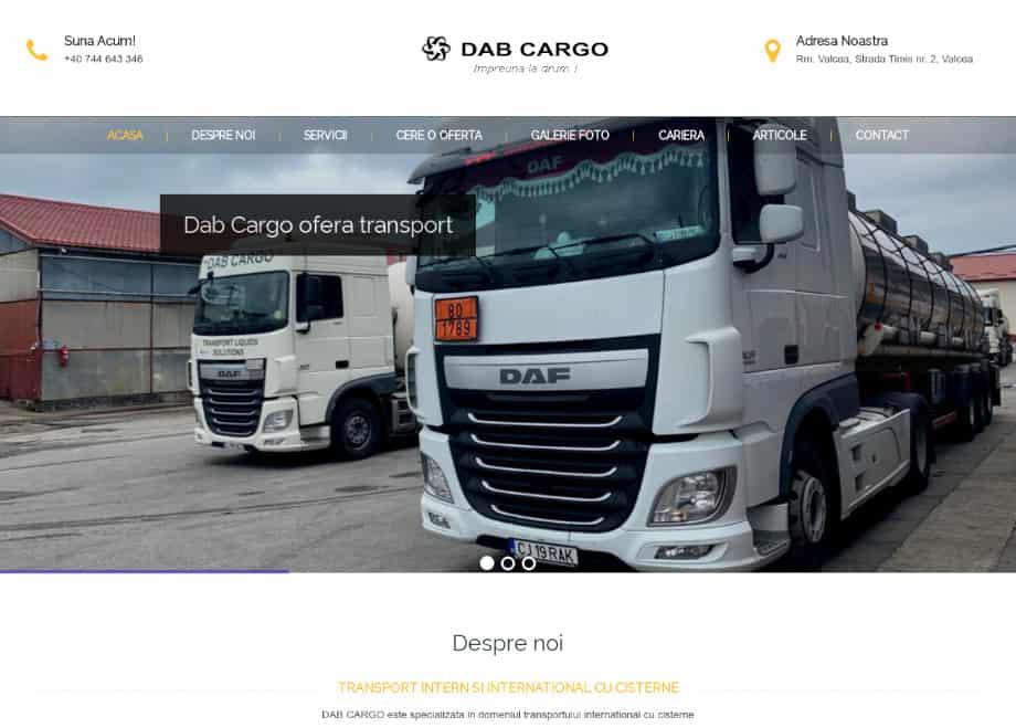 Transport intern si international cu cisterne - dabcargo.ro