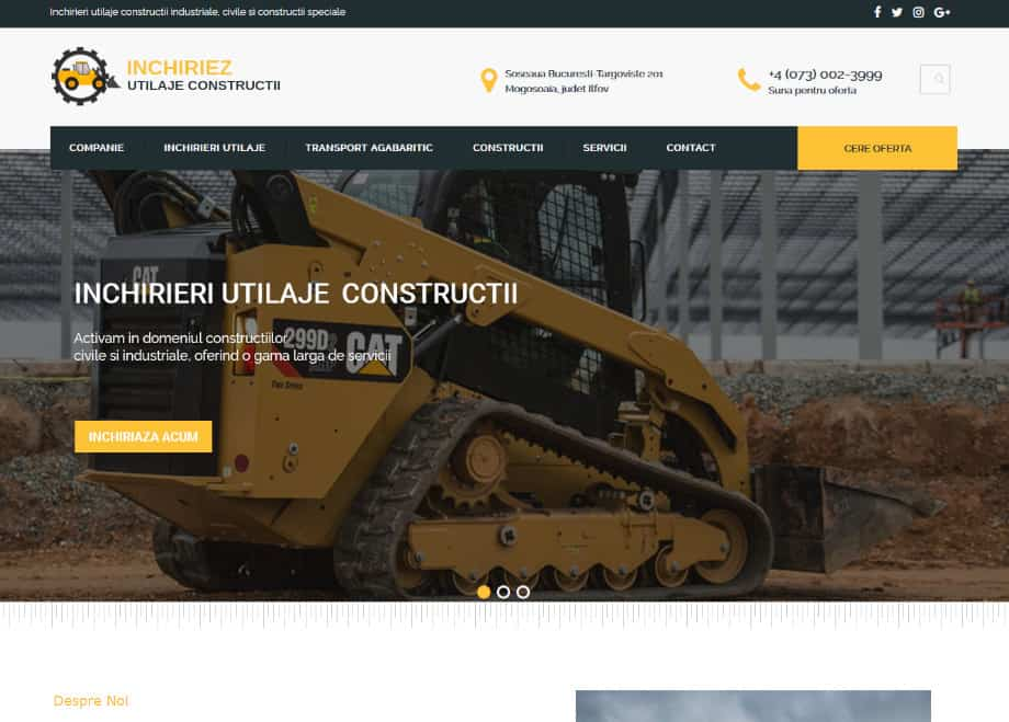 Inchirieri utilaje constructii - inchiriezutilajeconstructii.ro